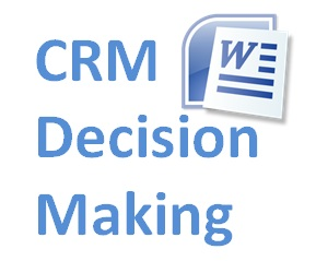 Crm_decision_making